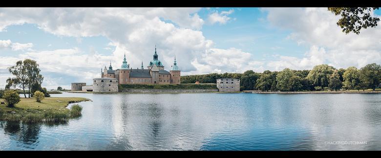 Kasteel - Panorama van een kasteel in Kalmar, Zweden.<br /> <br /> <br /> <br /> <br /> ©MotionMan 2021