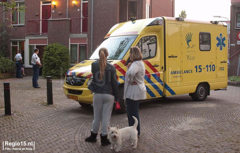 Wéér de ambulance..... - Gisteravond ging het weer helemaal mis. Elsa had weer twee hele zware en slechte dagen en ze reageerde niet op de injecties e