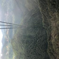 Uitzicht op de vallei.
