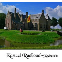 Bewerking: Kasteel Radboud (Medemblik)