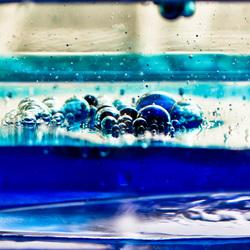 Kliederen met water en olie