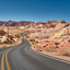 Mouse's Tank road, located in the Valley of Fire, Nevada.