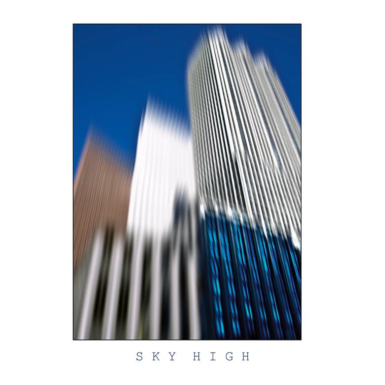 SKY HIGH 4 - 4 seriematige foto&#039;s met gezamenlijk onderwerp de ministeries in Den Haag.<br />