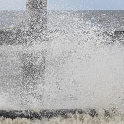 Stormachtig Schiermonnikoog