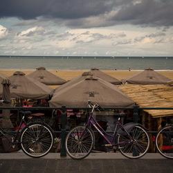 Bikes on the boulevard