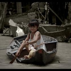 Floating Girl...