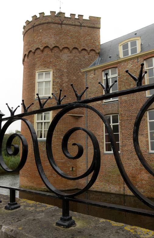 walcheren - kasteel Westhove - detailopname