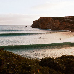 Georganiseerde golven in Portugal