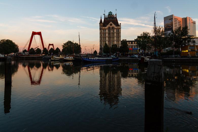 Oude Haven - Golden hour in de Oude Haven (Rotterdam)