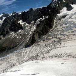 Mont Blanc Passage Mere de Glace 3400M