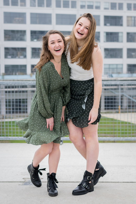 Vriendschap - Foto voor een webshop voor kleding. Erg leuk om te doen!