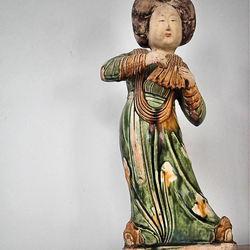 Een dikke dame uit China
