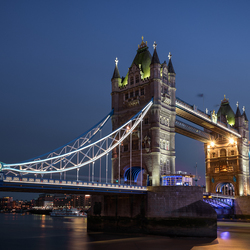 Tower bridge on blue hour