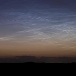 Noctilucente wolken