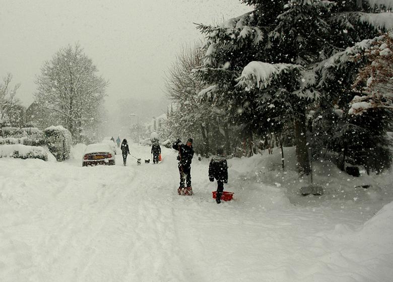 Sneeuw - Volgende week winter? Deze foto is van 17-12-2009