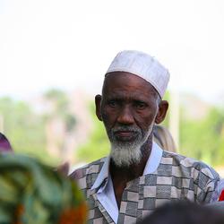 Afrika oude man