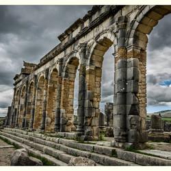 De Basilica van Volubilis