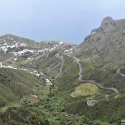 P1060720 Tenerife   Uitz Anaga gebergte  Noordk   richting kustplaatsjes 21 mei 2019