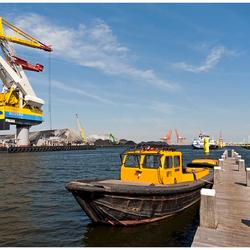 Kleurrijke haven