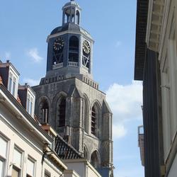 Kerktoren in Bergen op Zoom