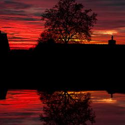 Sundown Reflection