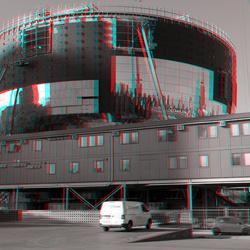 Nieuwbouw Depot Boijmans Rotterdam 3D