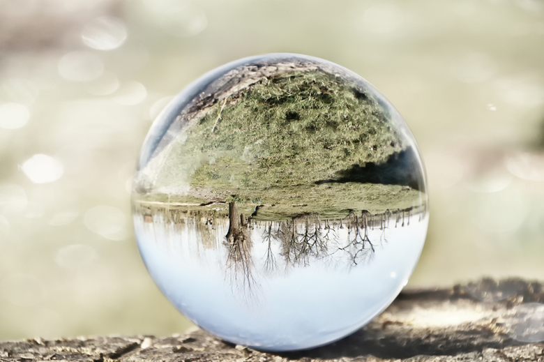 mijn glazen bol -