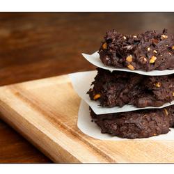 Avocado chocolade koekjes