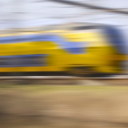 NS... at top speed.