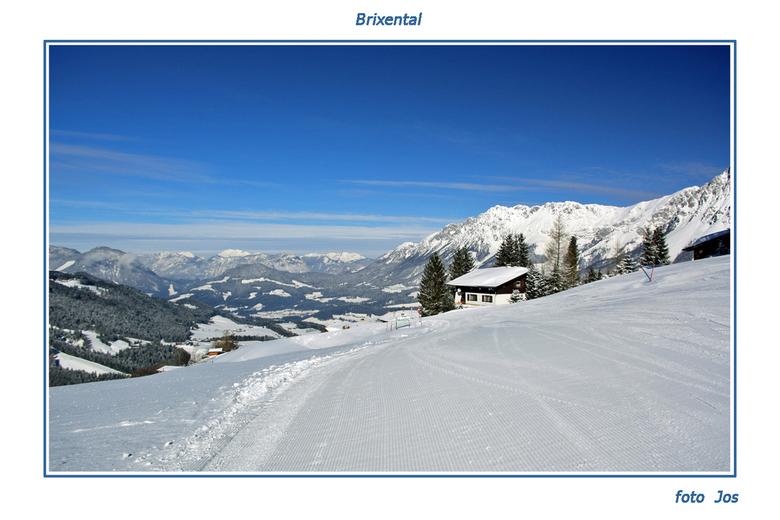 Brixental 4 - De 4de en de laatste die ik in deze serie plaats. Afgelopen week in Going -Brixental, Oostenrijk- geweest voor een weekje wintersport. S