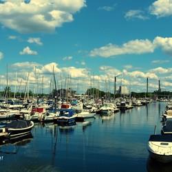 De grootste jachthaven van Nederland.....