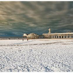 Winter aan de kust.