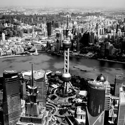 Skyline over Shanghai