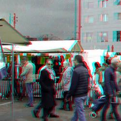 Markt Rotterdam 3D