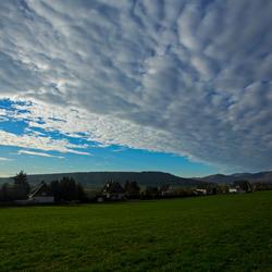 Mooie wolkenlucht ,hochsauerland
