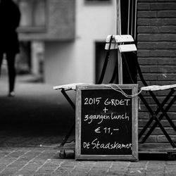 Breda straatfotografie zwart/wit