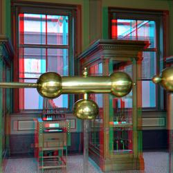 Instrumentenzaal Teylersmuseum Haarlem 3D