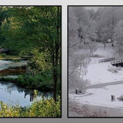 zomer en winter