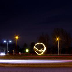 Kunstwerkje in de spotlight