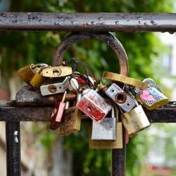 Parijs liefdes slotjes