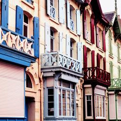 Kleurrijke villa's Wimereux