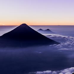 Vulkaan Agua, Guatemala