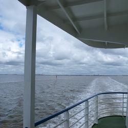 Uitzicht vanaf boot