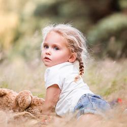 Spelen in het gras