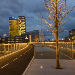 Utrecht -  Moreelsebrug - Rabo bank - de Verrekijker