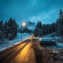 Oostenrijk bij nacht