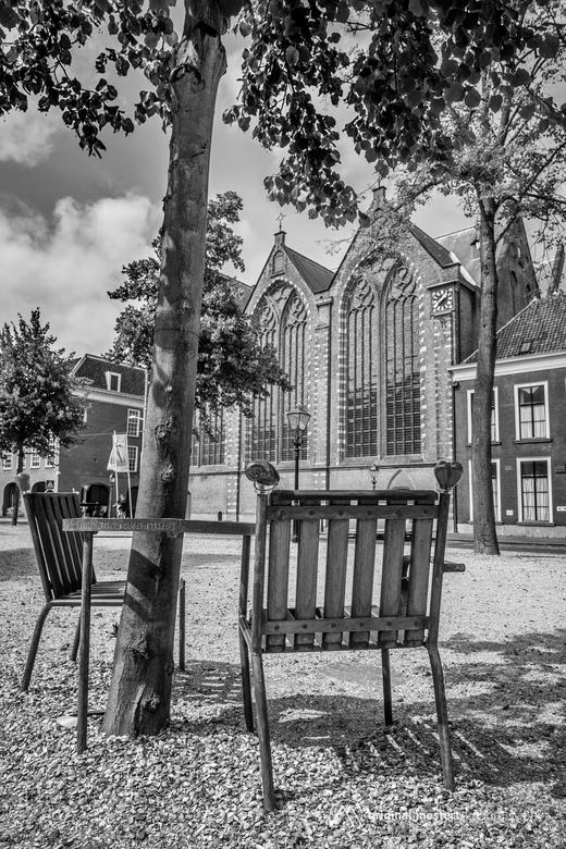 Havel bank & Kloosterkerk, Den Haag