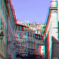Lissabon Portugal 3D