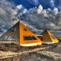 Pyramidewoning in Almere