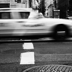 B/W Taxi